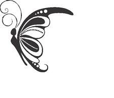 Butterfly sticker decal truck bus