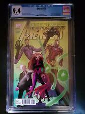 Avengers #8 CGC 9.4 Marvel Comics 2011 Captain America,Wolverine,Illuminati app.