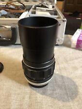 Minolta MC Rokkor-PF 135mm F2.8 Lens
