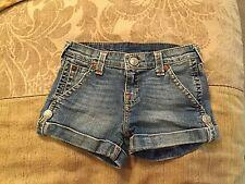 True Religion Jean Shorts Girls 14 Ladies 0 Sammy Style