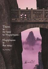 Kunstkarte: Weg zum Glück