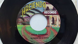ALFREDO DE LA ROSA Noche Tenebrosa / Nora Camacho NM- TEJANO TEX MEX Hacienda