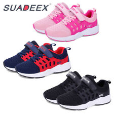 SUADEEX Kids Boys Girls Breathable Sport Running Shoes Comfortable Sneakers