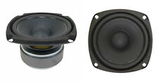 """NEW (2) 4-1/2"""" Woofer Speakers.Replacements.8ohm.Home Audio.PAIR.4.5"""".ext. Range"""