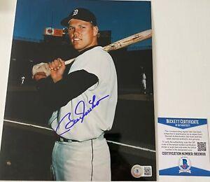 Bill Freehan Signed Detroit Tigers 8x10 Photo Beckett BAS COA Autograph Auto