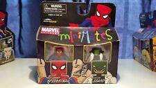 Marvel Minimates Six-Armed Spider-Man & Lizard TRU Series 9 Toys-R-Us New In Box