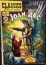 CLASSICS ILLUSTRATED #78 Joan of Arc (HRN 87) VG+