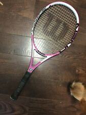"WILSON HOPE ELITE NANO CARBON TENNIS RACQUET OVERSIZE 113 SQ IN 4 1/8""-LOWEST $$"