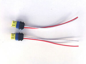 2x New Osram Xenon HID Ballast Power Plug Wire Cable Pigtail
