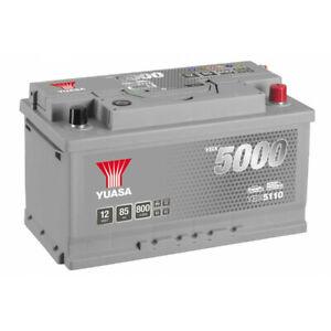 Batterie Yuasa Silver YBX5110 12v 85ah 800A Hautes performances