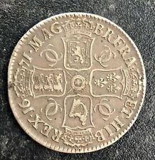 1671 English Silver Crown, Charles II, F+