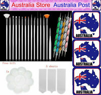 20pcs Nail Art Design Brushes Dotting Pen Tool Set Painting UV Gel Drawing Brush