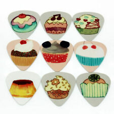 12x Funky Cake Guitar Picks/Plectrums. Stocking filler