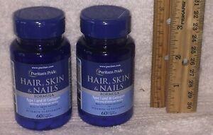TWO... Hair, Skin and Nails Formula (30 Ingredients, EX: Biotin & Collagen)