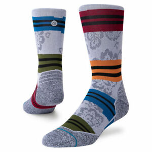 Stance Cycling Socks 'Flora Crew Cycling'   L   Crew   Nylon   New With Tags