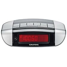 Grundig Sonoclock 660 Radiowecker Uhrenradio Wecker UKW RDS LED Schwarz Silber