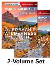 Auerbach's Wilderness Medicine by Paul S Auerbach,2 -Volume Set & Online, 7e NEW