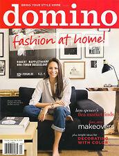NEW! DOMINO Home Fashion/Style Fall 2014 Lara Spencer Flea Market Ideas Interior