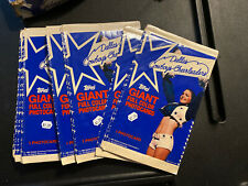1981 Topps Dallas Cowboys Cheerleaders Giant Full Color Postcards (25 Cards)