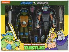 Leonardo vs Shredder NECA TMNT Teenage Mutant Ninja Turtles Target 2 Pack NEW