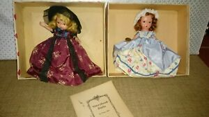 Two Nancy ann Storybook Dolls
