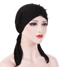 Muslim women headscarf scarf cosmetic bag hair inner cap cancer chemotherapy hat
