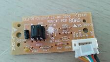 """TEVION (LVD32081D) 32"""" LCD TV  I.R SENSOR BOARD  GE3701-051060  29-09-2006"""