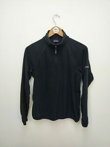 Berghaus Black Quarter Zip Fleece - Women's Fleece - Size 12