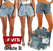 e4709e51 LEVIS DENIM SHORTS WOMEN'S VINTAGE HIGH WAISTED HOTPANTS GRADE B