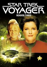 STAR TREK VOYAGER SEASON THREE 3 KATE MULGREW NEW SEALED 7-DISC DVD SET 2017 NEW