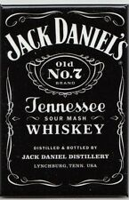 Jack DANIELS BLACK LABEL whisky Magnetico Magnete Targhetta di Stati Uniti