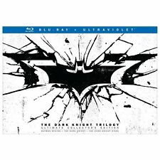 The Dark Knight Trilogy: Blu-ray Ultimate Collector's Edition Like New