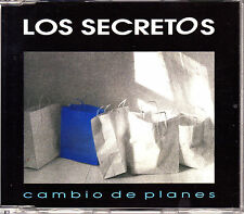 CD SINGLE los SECRETOS cambio de planes  SPAIN 1993 1-TRACK NEAR MINT