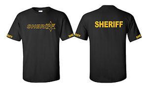 Deputy Sheriff Law Enforcement tees Long  and Short sleeve Shirts Gildan