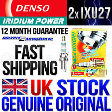 2 x DENSO IXU27 (5337) IRIDIUM POWER SPARK PLUGS FIAT 500 1.4 Abarth PUNTO EVO