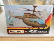 Modelkit Matchbox Bell OH-58D Aeroscout on 1:72 in Box (Sealed)