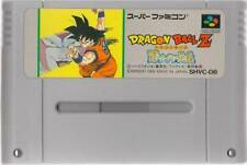 "NINTENDO SUPER FAMICOM "" DRAGON BALL Z SAIYA DENSETSU "" SAIYAN SNES SFC"