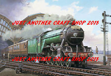 The Flying Scotsman LNER 4472 1960's Train Railway Poster A3 Size