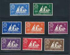 """St. Pierre & Miquelon """"ST MALO FISHING SCHOONER"""" #300 - 313 SET NO FAULTS; MH"""