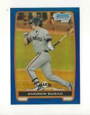 2012 Bowman Chrome Prospects Blue Refractor #BCP97 Andrew Susac Giants /250