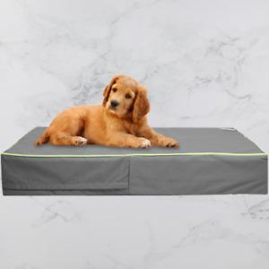 Memory Foam Pet Bed Mattress Cushion 100 x 65cm Orthopaedic Comfortable Cat Dog