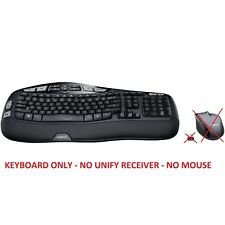 Logitech - MK570 Comfort Wave Wireless Keyboard Only ! (NO MOUSE NO RECEIVER)™
