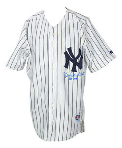 Dave Winfield Signed Yankees Russell Authentic Collection Jersey HOF Insc