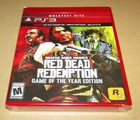 Red Dead Redemption Game of the Year Edition (PlayStation 3) Fast Shipping