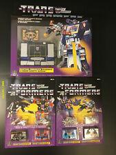 2018 Transformers Soundwave & Ravage/Rumble, Frenzy/Laserbeak lot