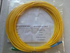 Jarretière Optique Monomode Simplex 9/125 Optronics SC-APC / LC 18m NEUVE