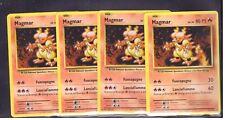 POKEMON 4x Magmar 20/108 Evoluzioni Non Comune ITA