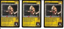 WWE RAW DEAL - 3X Sleeper *FREE SHIPPING* RARE *Playset* Submission