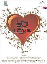 50 ULTIMATE LOVE SONGS - 4CDs SET - FREE UK POST