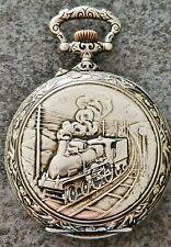 * Rare* Gros régulateur Train signé Frainier - Train regulator by Frainier